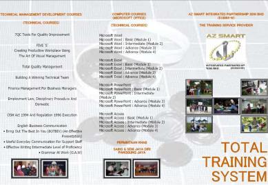 Bahagian Depan Training Course